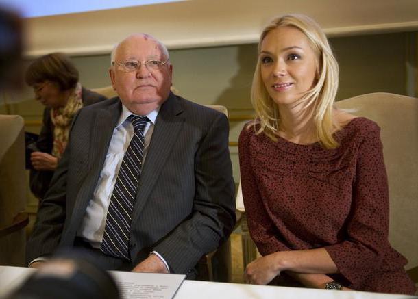 Ксения Горбачева с дедом
