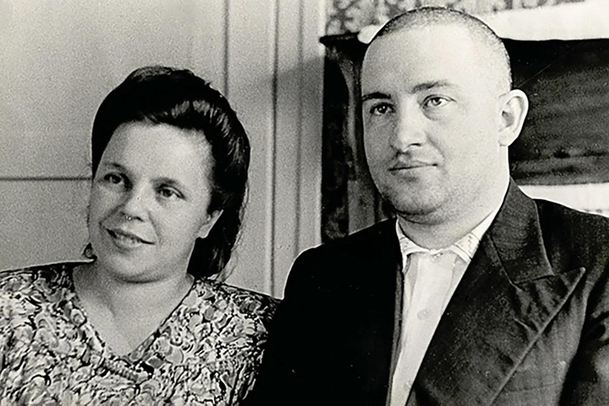 Евгения и Владимир Андроповы