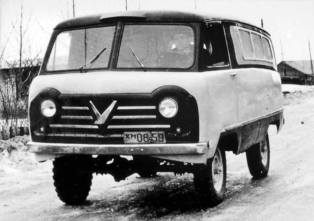 Опытный образец УАЗ-450
