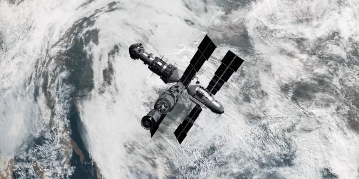 """Разведка Украины показала работу своего шпиона, передающего данные через затопленную станцию """"Мир"""""""
