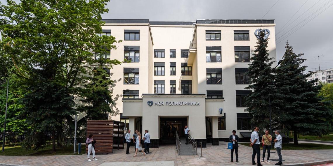 В Москве открылись четыре реконструированные поликлиники