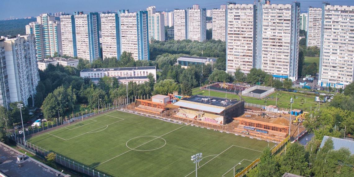 Собянин: в Москве появятся еще 11 профессиональных футбольных полей