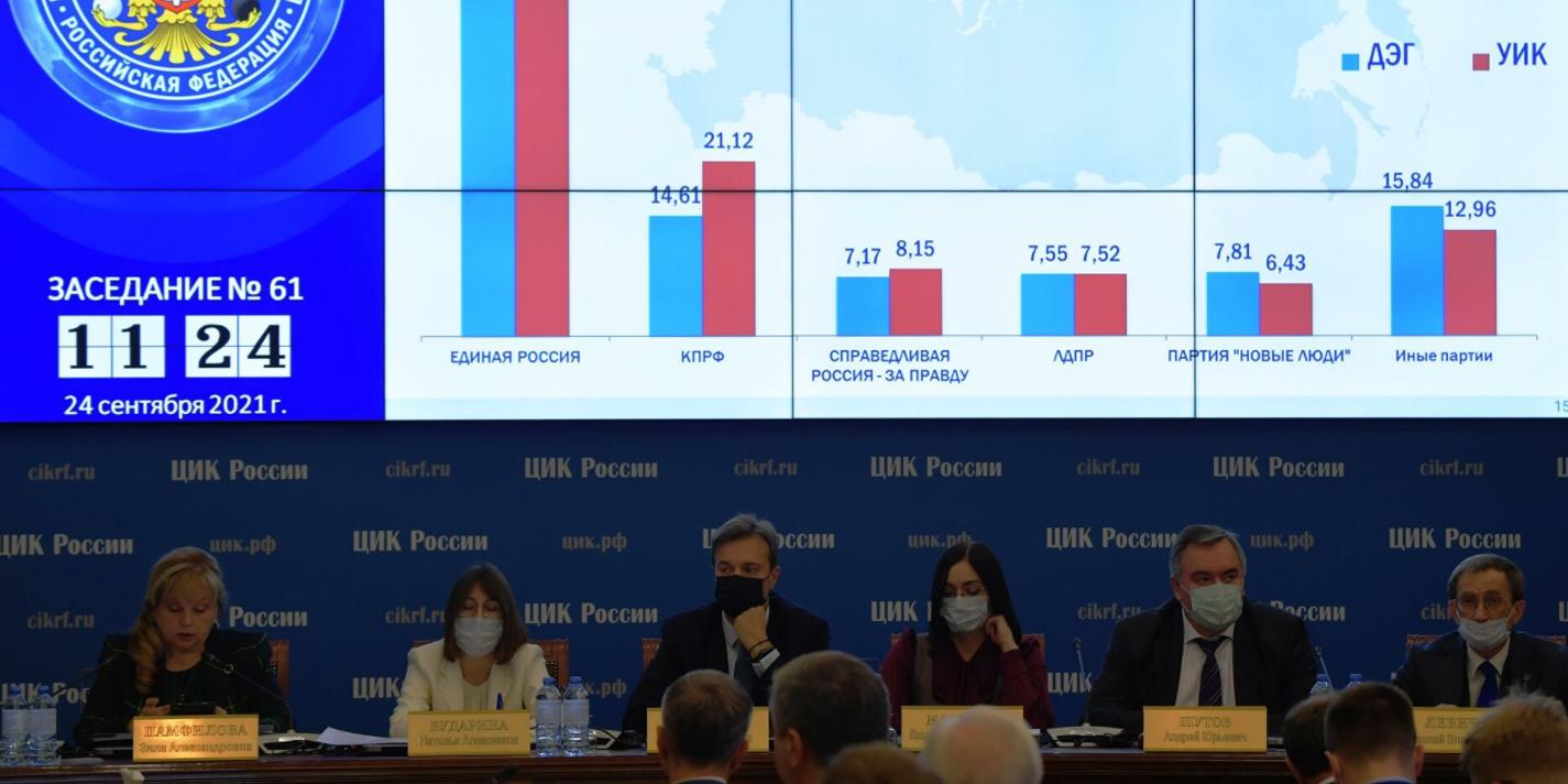 Центризбирком официально признал выборы в Госдуму состоявшимися