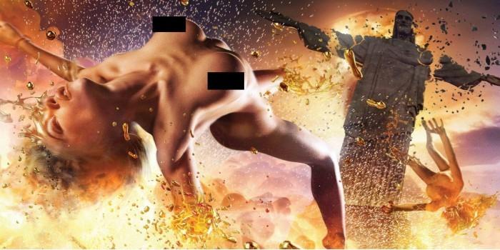 В России выпустили эротический календарь против ядерной войны