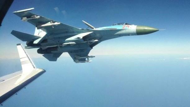 Российский истребитель напугал шведский самолёт-разведчик над Балтийским морем