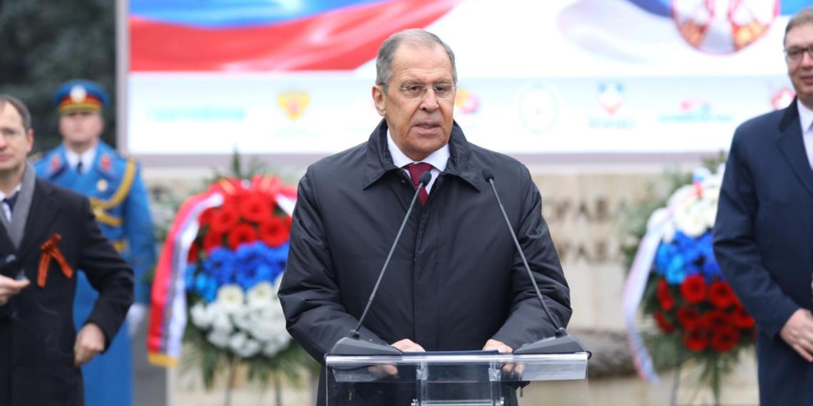 Лавров: РФ категорически не приемлет попытки переписать историю Второй мировой войны