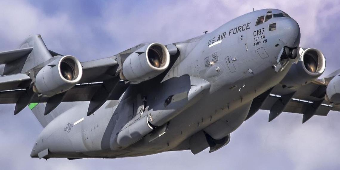 Украина приняла еще три военных транспортника НАТО