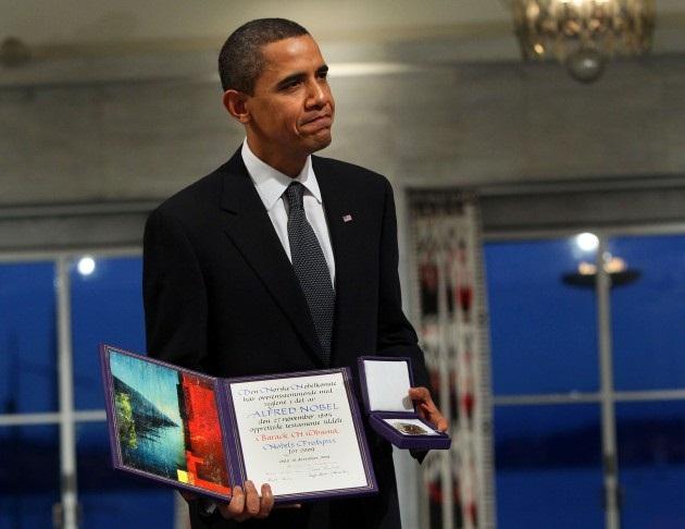 """""""Обама, верни премию мира!"""": многодневный пикет в Страсбурге против политики ЕС"""