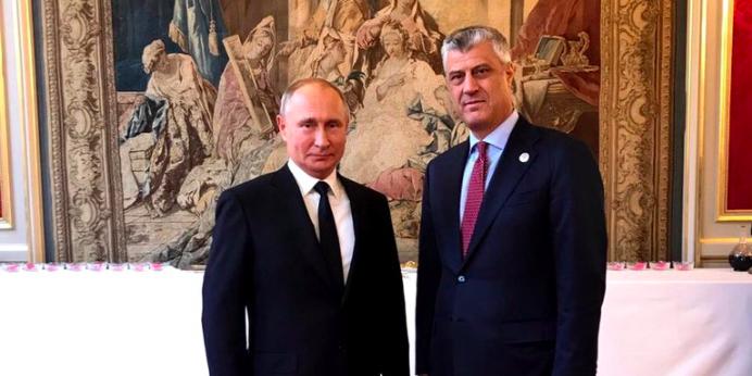 В Кремле объяснили тайную встречу Путина с лидером Косово