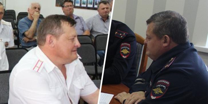 Пьяный начальник ГИБДД протаранил машины и пытался скрыться, угрожая оружием