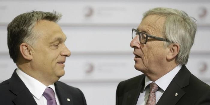 Глава Еврокомиссии назвал венгерского премьера «диктатором» и дал ему пощечину