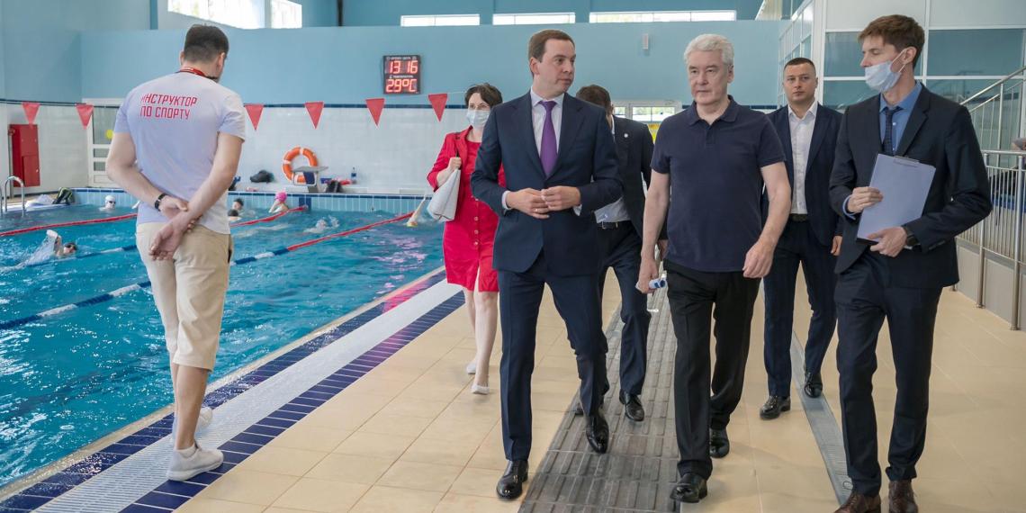 Собянин осмотрел новый спорткомплекс для лиц с ограниченными возможностями