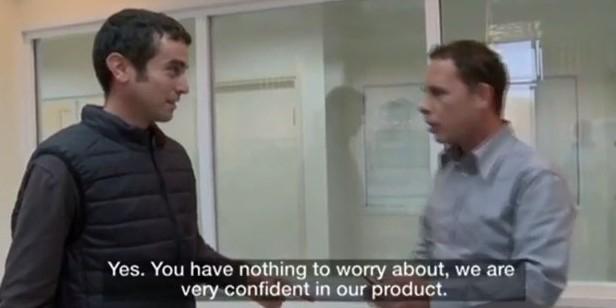 Израильский журналист пострадал, проверяя на себе новый бронежилет