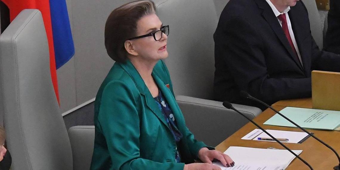 Терешкова открыла первое заседание Госдумы VIII созыва