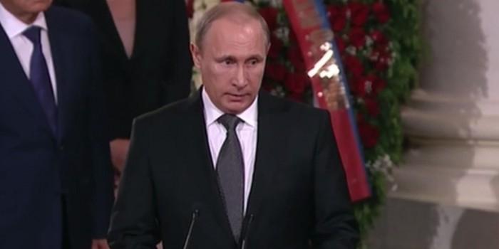 Путин: Примаков был великим гражданином нашей страны