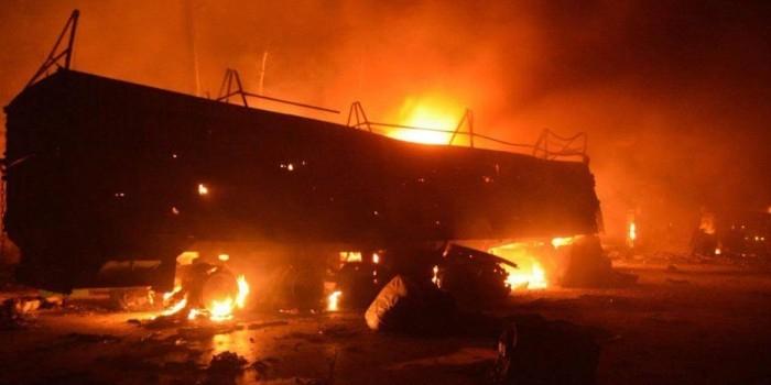 В Минобороны рассказали об ударном беспилотнике западной коалиции в районе атаки на гумконвой