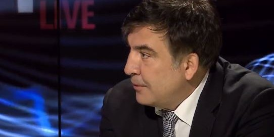 Саакашвили пожаловался, что украинским чиновникам нечего воровать - все уже украдено до них