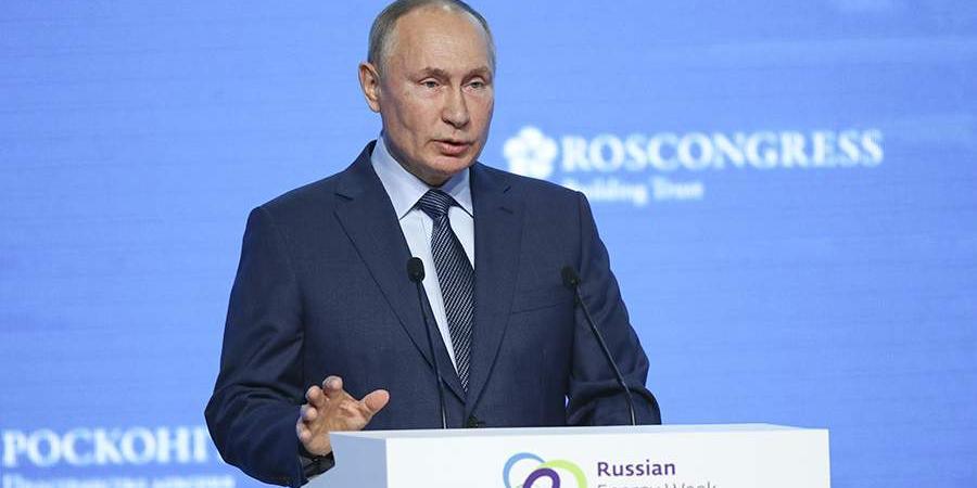 Путин заявил, что запасы энергоресурсов в РФ носят планетарный характер