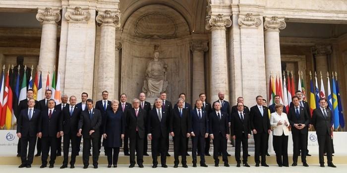 Лидеры ЕС подписали новую Римскую декларацию о будущем союза без Британии