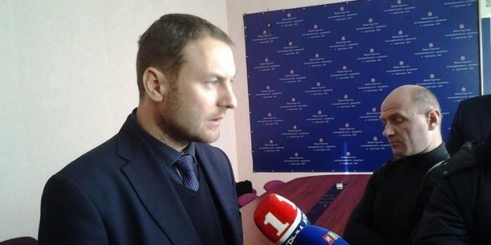 ФСБ задержала министра промышленности Крыма