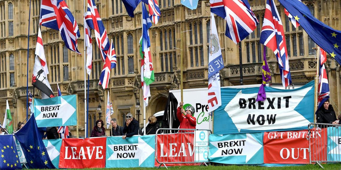Британия отказалась платить ЕС за Brexit