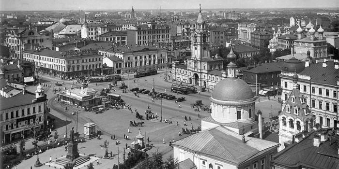 В сети опубликованы редкие фото Москвы 20-30-х годов