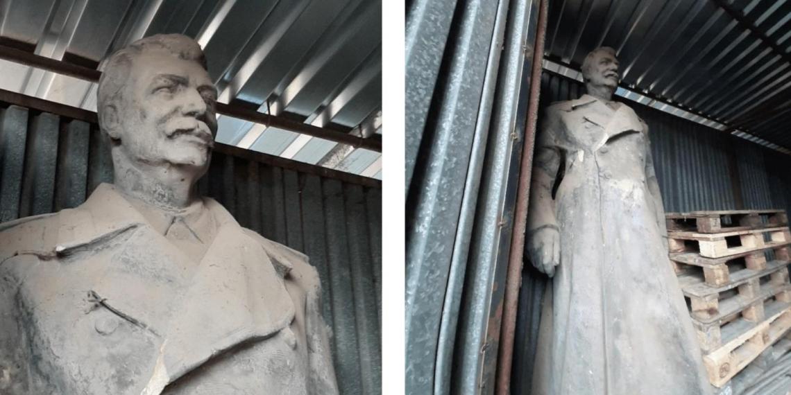 Чешский город выставил на продажу памятник Сталину за €700