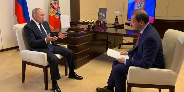 Путин: Россия создала резерв из силовиков для помощи Белоруссии