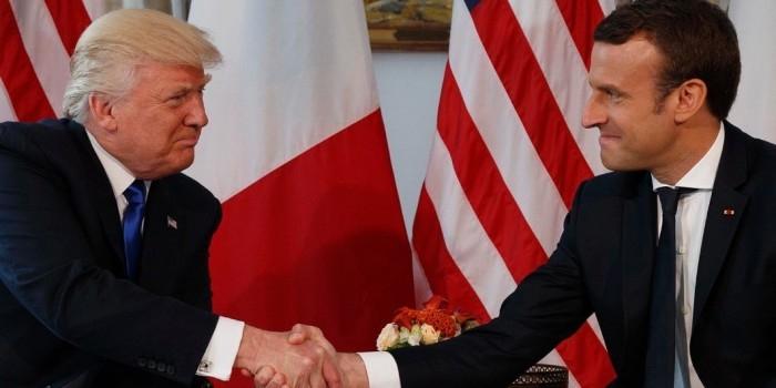 """Макрон: западный мир начал """"трещать"""" с приходом Трампа"""