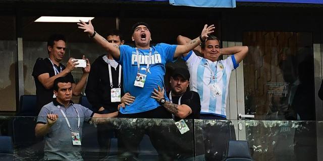 ФИФА уволила Марадону с должности посла из-за его поведения