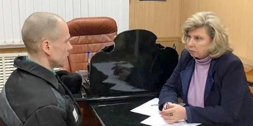 Уполномоченный по правам человека поделилась подробностями встречи с Дадиным в колонии