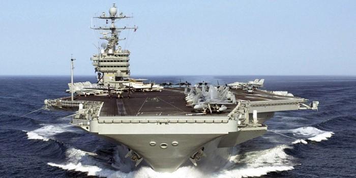 В Пентагоне объяснили отправку авианосца к берегам КНДР