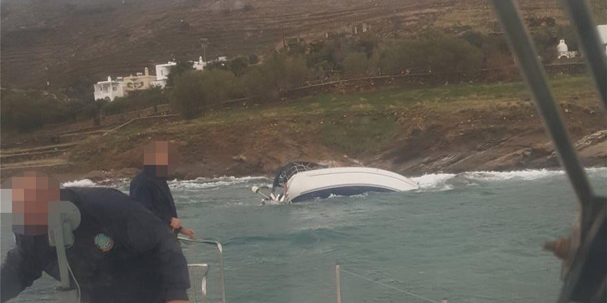 Россиянин сел на мель в Греции на угнанной из Турции яхте