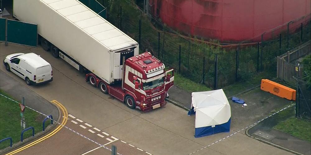 Выяснено происхождение 39 трупов, найденных в грузовике в Британии
