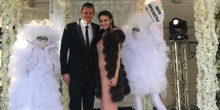 Костенко намекнула на скорую свадьбу с Тарасовым