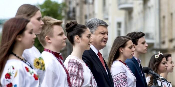 Порошенко назвал Украину передовым защитником Европы от варварства и тирании