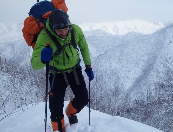 Житель Сахалина в одиночку прошел 500 километров по заснеженным льдам
