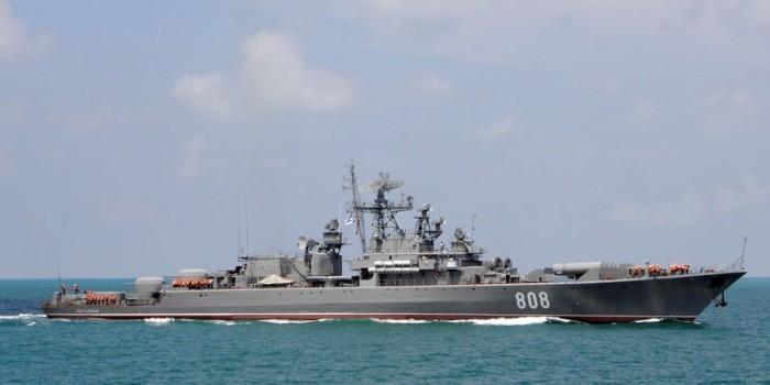 Российские корабли проведут учения недалеко от Сирии