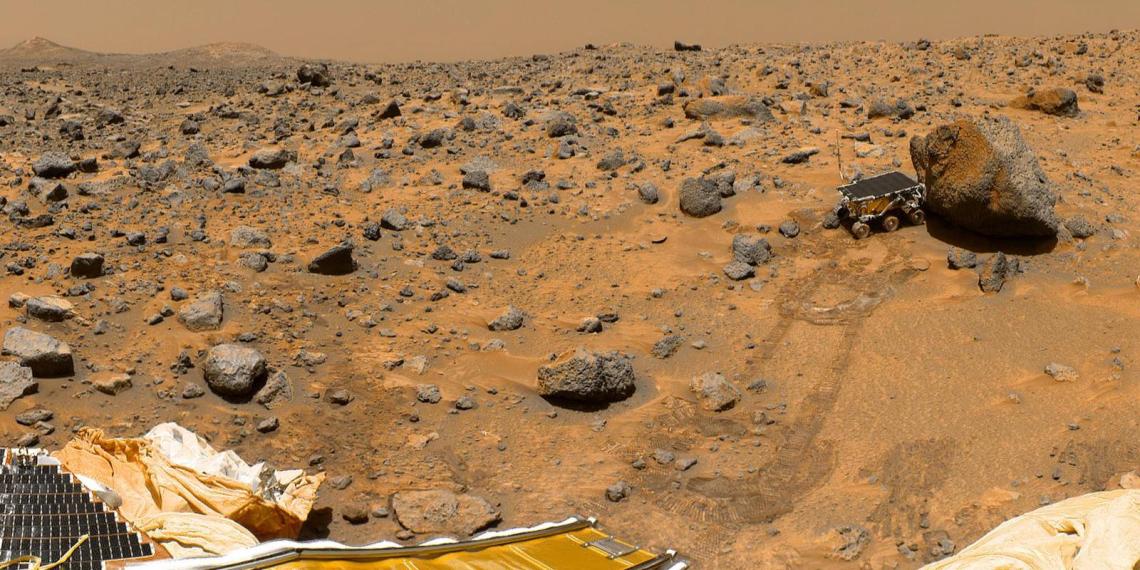 Ученые NASA рассказали о внутреннем строении Марса