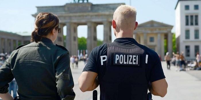 Из здания МВД Германии неизвестные похитили сантехнику