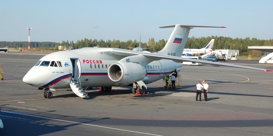 Российская авиакомпания пожаловалась на невозможность эксплуатировать Ан-148 без помощи Украины