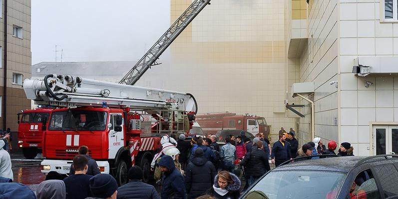 """МЧС: сигнализацию в """"Зимней вишне"""" перевели в ручной режим за неделю до пожара"""