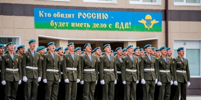 Рязанское училище ВДВ примет вдвое больше абитуриентов