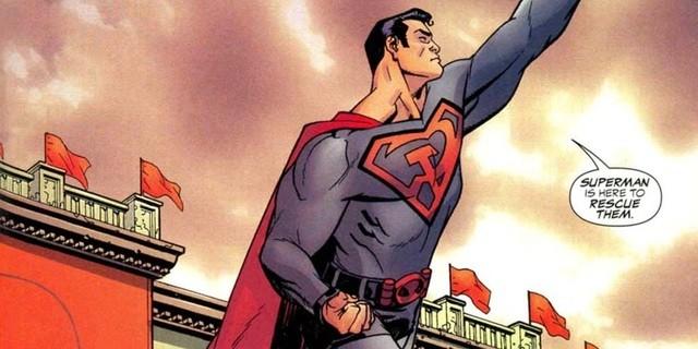 В Голливуде готовят фильм по комиксам о Супермене-коммунисте