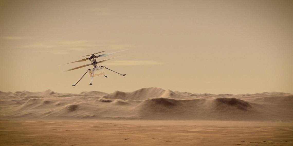 Марсианский вертолет дистанционно починят с Земли и вновь попробуют запустить