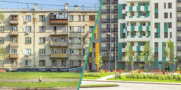 """""""Левада-центр"""": 73% москвичей поддерживают программу реновации жилья"""