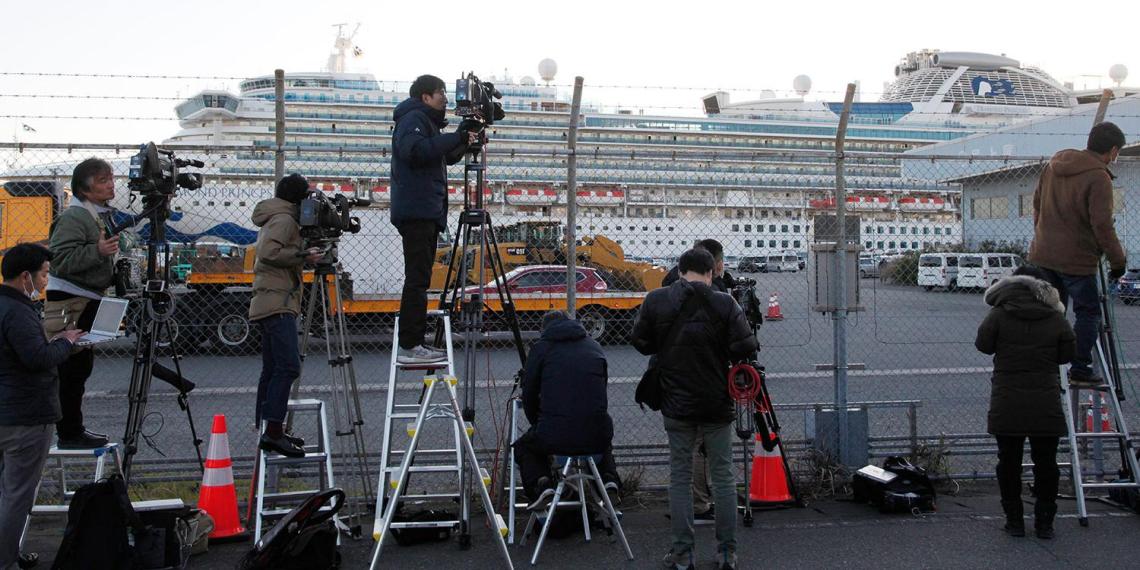 Две россиянки сошли с судна Diamond Princess в Японии