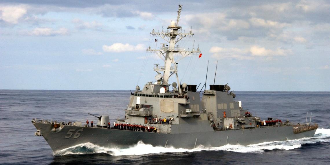 США признали вторжение эсминца на российскую территорию намеренным и объяснили свои цели