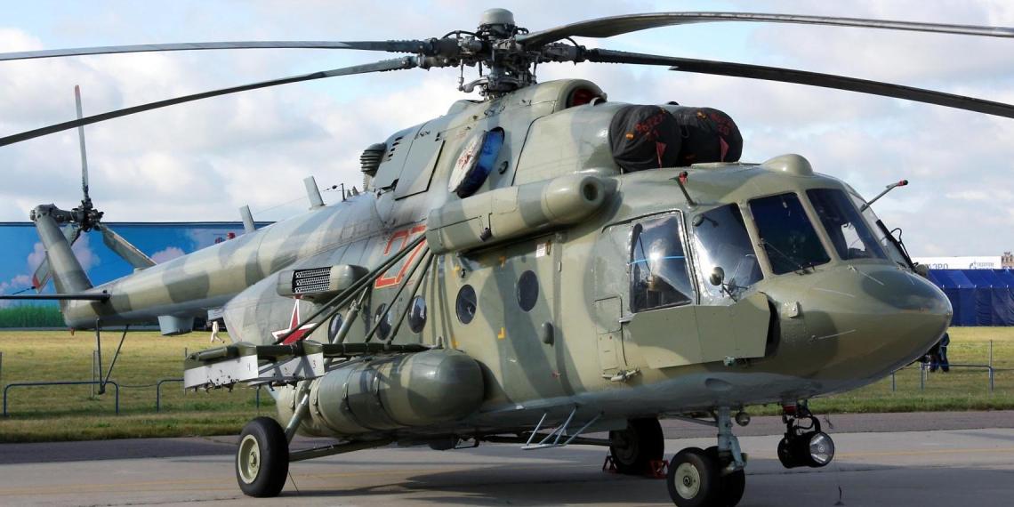 В аэропорту Кабула ограбили российский вертолет