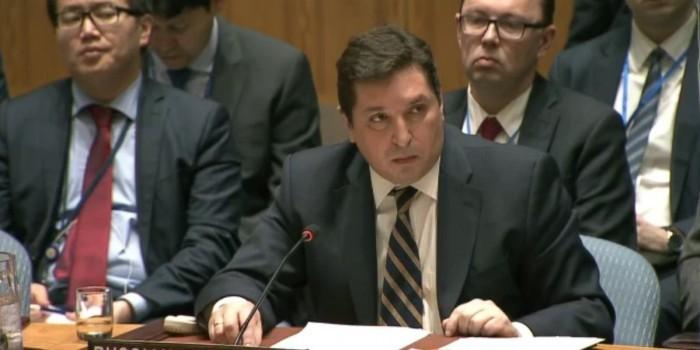 """""""Глаза-то не отводи"""": представитель России в ООН поставил британского дипломата на место"""